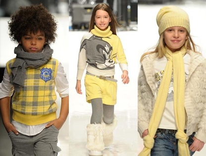 Fall fashion trend 1: Yellow and neutrals (Iceberg)